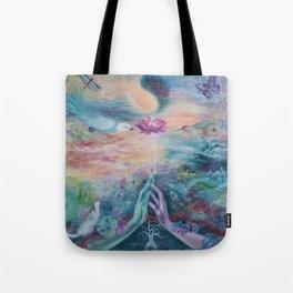 Divine Sacred Union Tote Bag