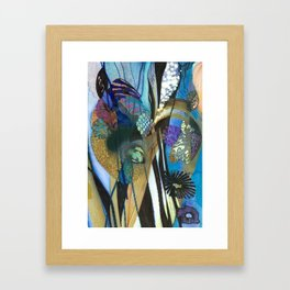 Iris Lost In Another World Framed Art Print