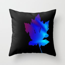 Leaf2 Throw Pillow