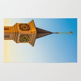 fabulous clock tower Rug