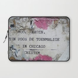 Urban poetry Laptop Sleeve