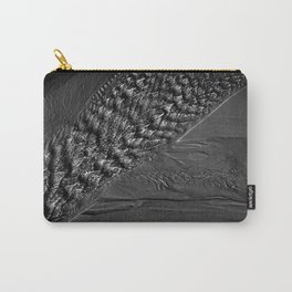Water ripples over a sandy beach Carry-All Pouch
