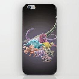 Rainbow Dinosaurs iPhone Skin