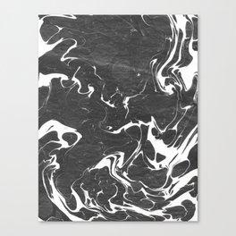 Suminagashi Series (Blood) 血液 Canvas Print