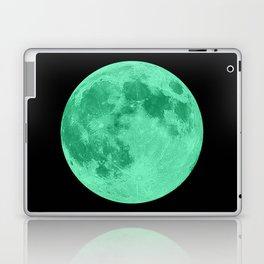 MOON GLOW GREEN Laptop & iPad Skin