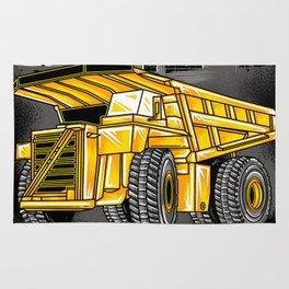Support Coal Dump Truk Rug