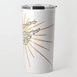 Skeleton Hand Inktober :: Dreadful Fairy Tales Travel Mug