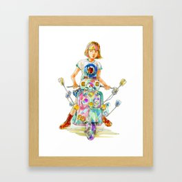 We are the Mods! Framed Art Print