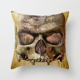 In The Eyes Of The Vampire Throw Pillow
