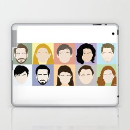 Once Upon A Cast Laptop & iPad Skin