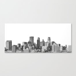 Minneapolis Minnesota Canvas Print
