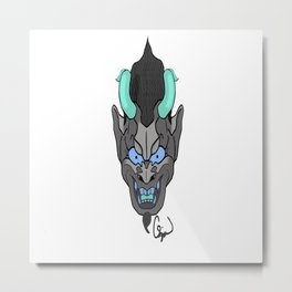 ONI Metal Print