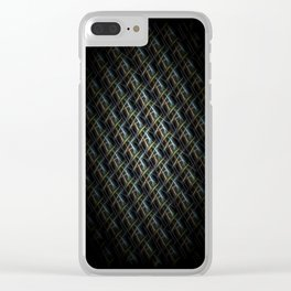 The Near Side Of A Space Entity Clear iPhone Case