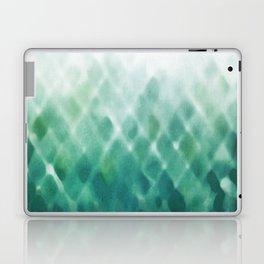 Diamond Fade in Teal Laptop & iPad Skin