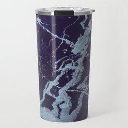 Rivulets - An Abstract Travel Mug