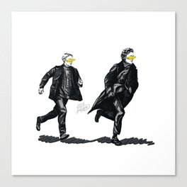 Swift Run (Sherlock and John) Canvas Print