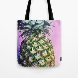 Purple Pineapple Tote Bag