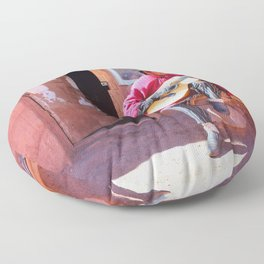 Pueblo de Machuca Floor Pillow