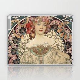Alphonse Mucha - F. Champenois Imprimeur-Editeur, 1898 Laptop & iPad Skin