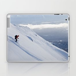 Skiers at Hatcher Pass (2) Laptop & iPad Skin