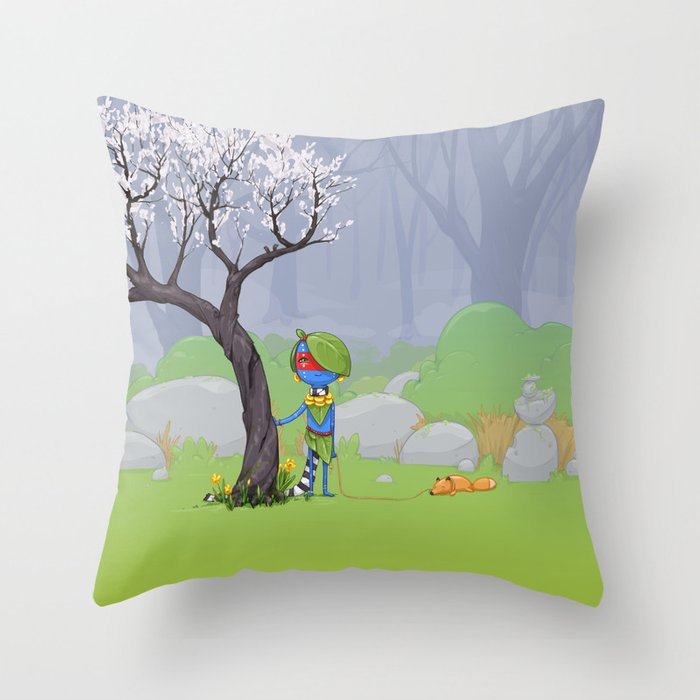 Scout Throw Pillow