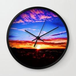 Easter Egg Sky Wall Clock