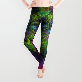 Rocket Man (abstract, psychedelic) Leggings