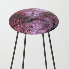 Red Counter Stool