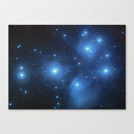 Star Struck - Pleiades Canvas Print