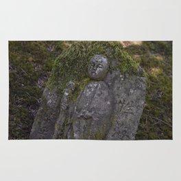 Japanese Statue Rug