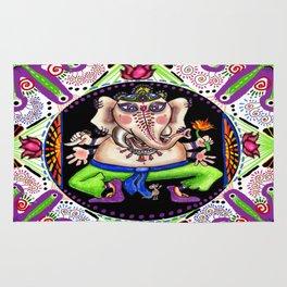 Ganesh Ganesha Mandala Rug