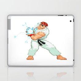 Ryu Hoshi Hadoken Pixel Art Laptop & iPad Skin