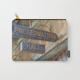 New Orleans Jazz Club Carry-All Pouch