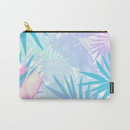 Pastel Rainbow Tropical Paradise Design Carry-All Pouch