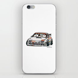 Crazy Car Art 0143 iPhone Skin
