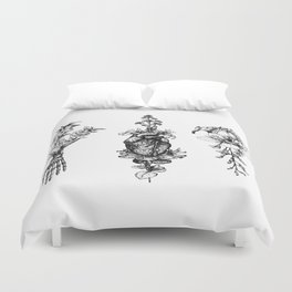 In Bloom - herbarium Duvet Cover