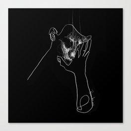 AS TEARS GO BY Canvas Print