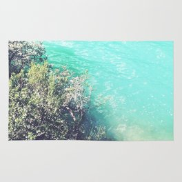 Turquoise Water Photo Rug