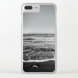 BEACH DAYS XXIII BW Clear iPhone Case