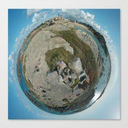 Terre Bleue Canvas Print