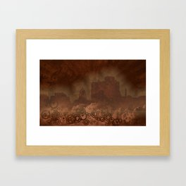 Urban Clouds Framed Art Print