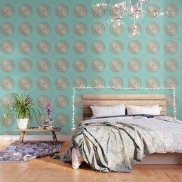 Rose Gold Mint Mandala Wallpaper