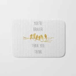 Brave Bath Mat