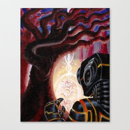 CuriousiTree- Adam France Canvas Print