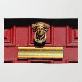 Stage Door 1889 - Please Knock Rug