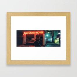 Got Lonely So I Saw My Ex Framed Art Print