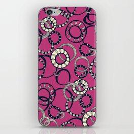 Honolulu hoopla pink iPhone Skin