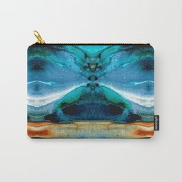 The Time Traveler - Surreal Fantasy Art By Sharon Cummings Carry-All Pouch