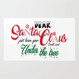 Dear Santa Rug