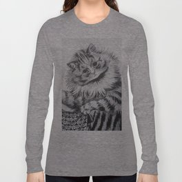 Louis Wain - Cat Portrait Long Sleeve T-shirt